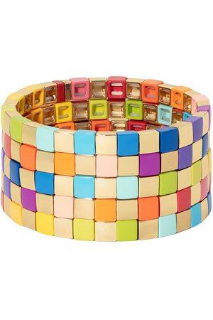 Roxanne Assoulin Golden Rainbow set of five bracelets