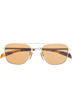 Eyewear by David Beckham Aviator frame sunglasses