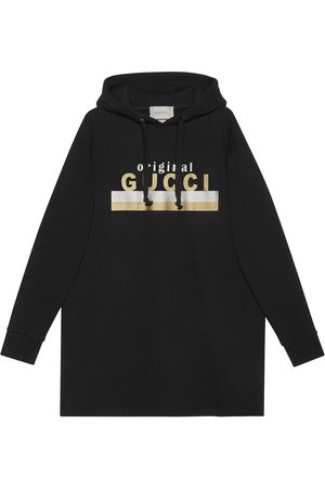 "Gucci ""Original "" print hooded dress"