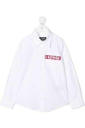 Dsquared2 Logo print shirt