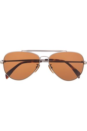 David beckham Tinted aviator sunglasses