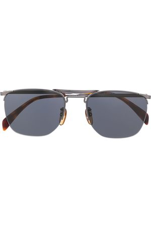 Eyewear by David Beckham Aviator half-frame sunglasses