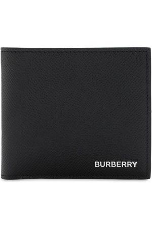 Burberry Grain Leather Billfold Wallet
