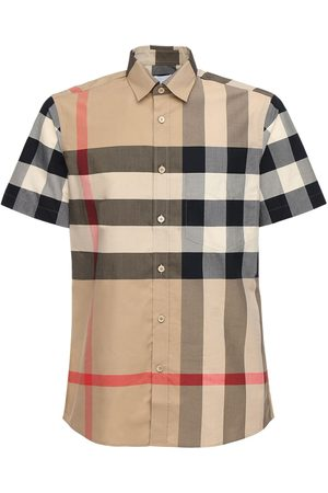Burberry Somerton Stretch Cotton Poplin Shirt