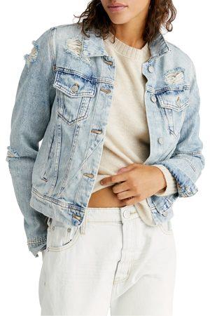 Free People Women's Rumors Denim Jacket