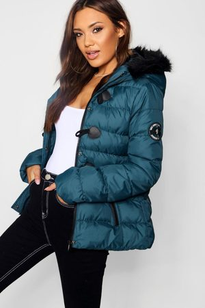 Boohoo Womens Short Quilted Bubble Jacket - - 4