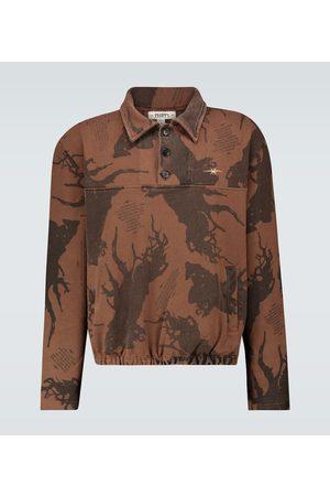 Phipps Methuselah sweatshirt with collar