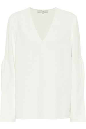 tibi Chalky blouse