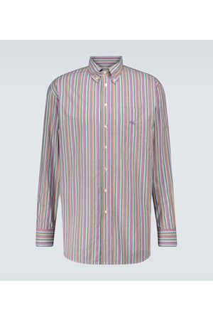 Etro Striped cotton shirt