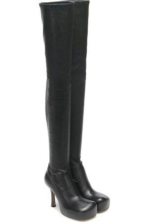 Bottega Veneta BV Bold leather over-the-knee boots