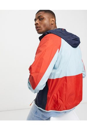 Barbour Beacon Jackets - Evin color block lightweight jacket in multi