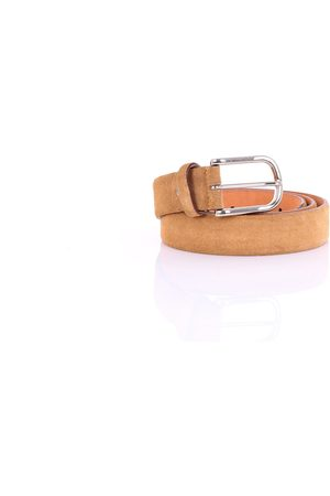 PAOLO D'AURIA Belts Men Camel
