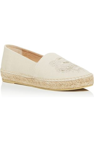 Kenzo Women's Tiger Embroidered Espadrille Flats