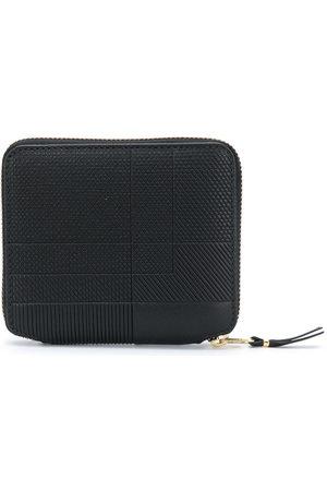Comme des Garçons Intersection textured zip-around wallet