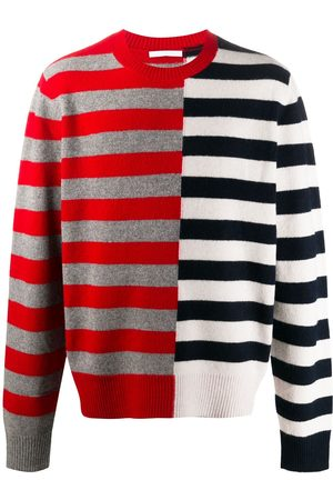 Helmut Lang Men Sweaters - Colour-block striped jumper