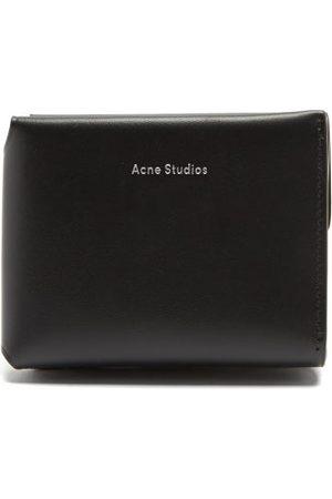 Acne Studios Logo-debossed Tri-fold Leather Wallet - Womens