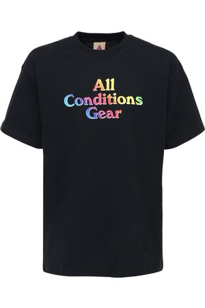 Nike Acg Printed Cotton T-shirt