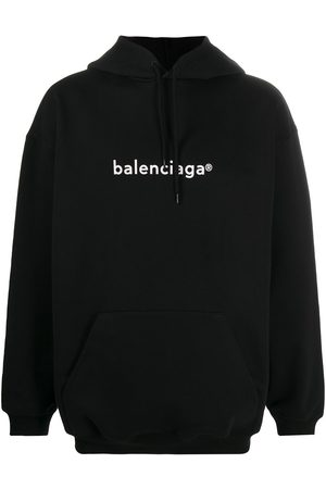 Balenciaga Men Hoodies - New Copyright relaxed-fit hoodie