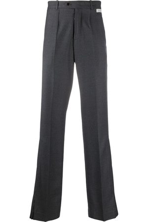 OFF-WHITE Flared tailored trousers - Grey