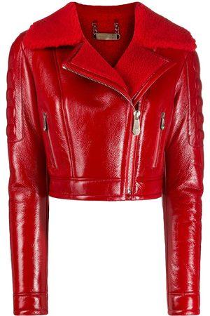 Philipp Plein Killer lined biker jacket