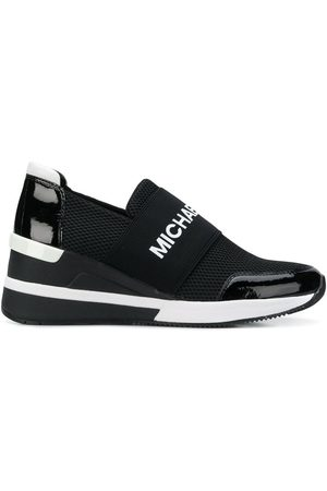 Michael Kors Logo platform runner sneakers