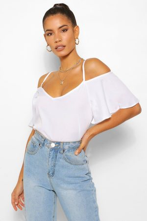 Boohoo Womens Pastel Cold Shoulder Camisole - - 2