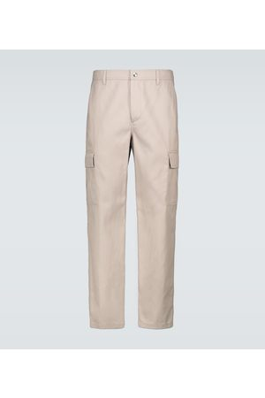 VALENTINO Cotton twill cargo pants