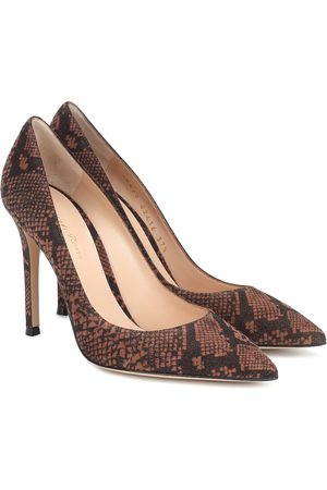 Gianvito Rossi Gianvito 105 snake-effect pumps
