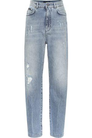 Dolce & Gabbana High-rise carrot jeans
