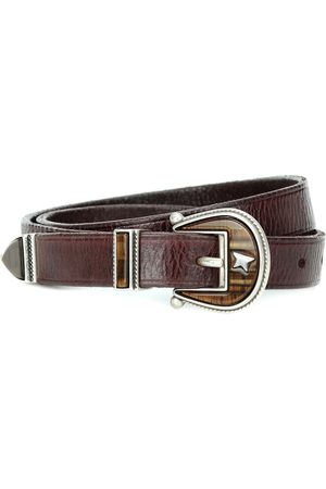 Golden Goose Rodeo leather belt