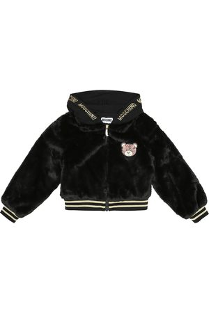 Moschino Faux fur bomber jacket