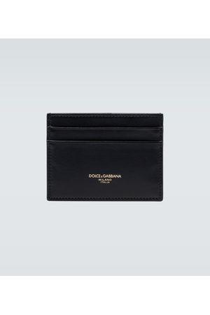 Dolce & Gabbana Men Wallets - Leather cardholder
