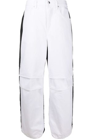 Alexander Wang Women Tapered - Contrast panel jeans
