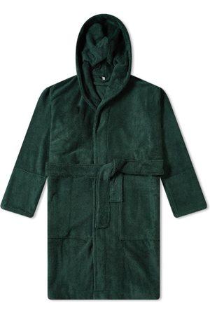 Tekla Fabrics Men Bathrobes - Terry Hooded Bathrobe