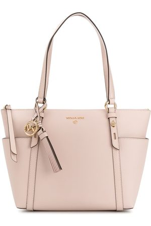 Michael Kors Zipped leather tote bag