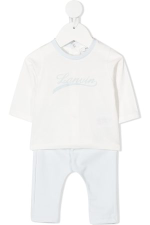 Lanvin Two-tone cotton tracksuit