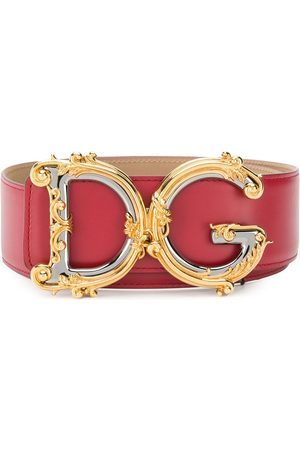 Dolce & Gabbana Embellished DG buckle belt