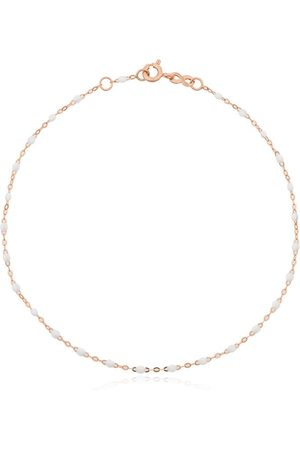 GIGI CLOZEAU 18kt rose beaded anklet - R01 ROSE