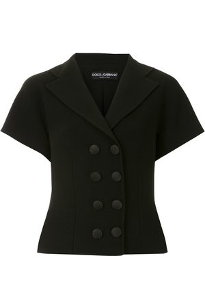 Dolce & Gabbana Cropped double-breasted jacket