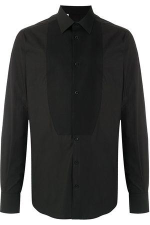 Dolce & Gabbana Plain bib-style shirt