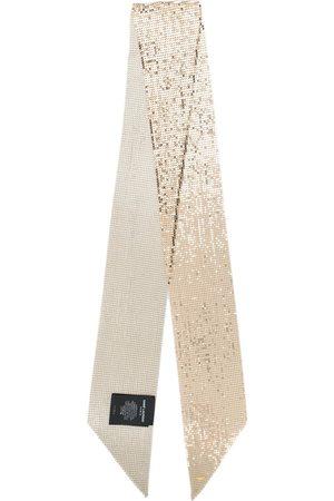 Saint Laurent Lavallière mesh scarf