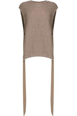 GOEN.J Side-taps knitted top
