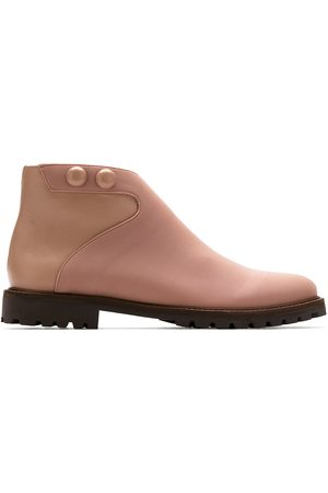 Sarah Chofakian Women Ankle Boots - Leather ankle boots