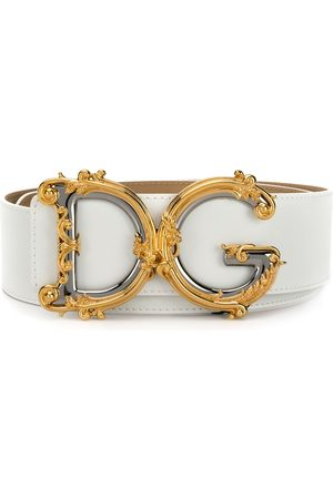 Dolce & Gabbana Baroque DG logo belt