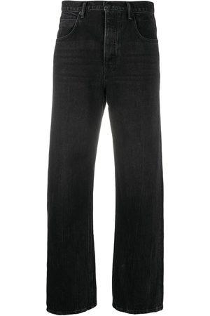 Alexander Wang Skater wide jeans - Grey