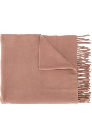 Acne Studios Scarves - Canada New fringed scarf - Neutrals