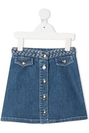 Chloé Girls Mini Skirts - Denim mini skirt