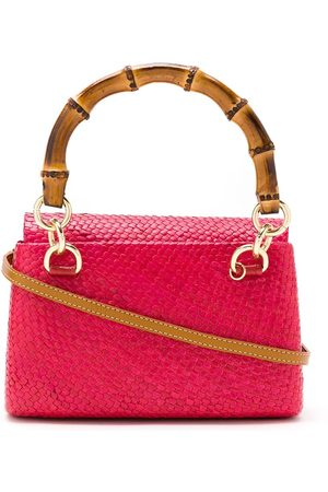 SERPUI Bamboo handle wicker bag