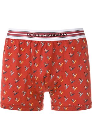 Dolce & Gabbana Printed cotton boxers