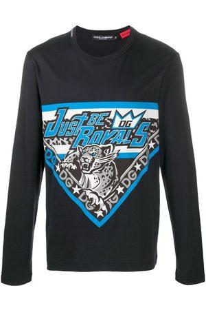 Dolce & Gabbana Men Long Sleeve - DG Royals long-sleeve T-shirt